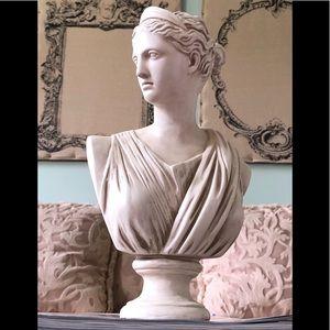 Restoration Hardware dupe female bust statue RH!